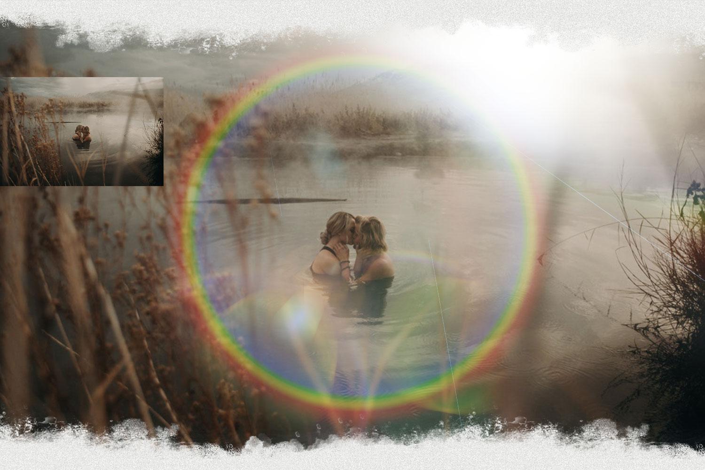Rainbow overlays & textures, rainbow action, rainbow preset example image 4