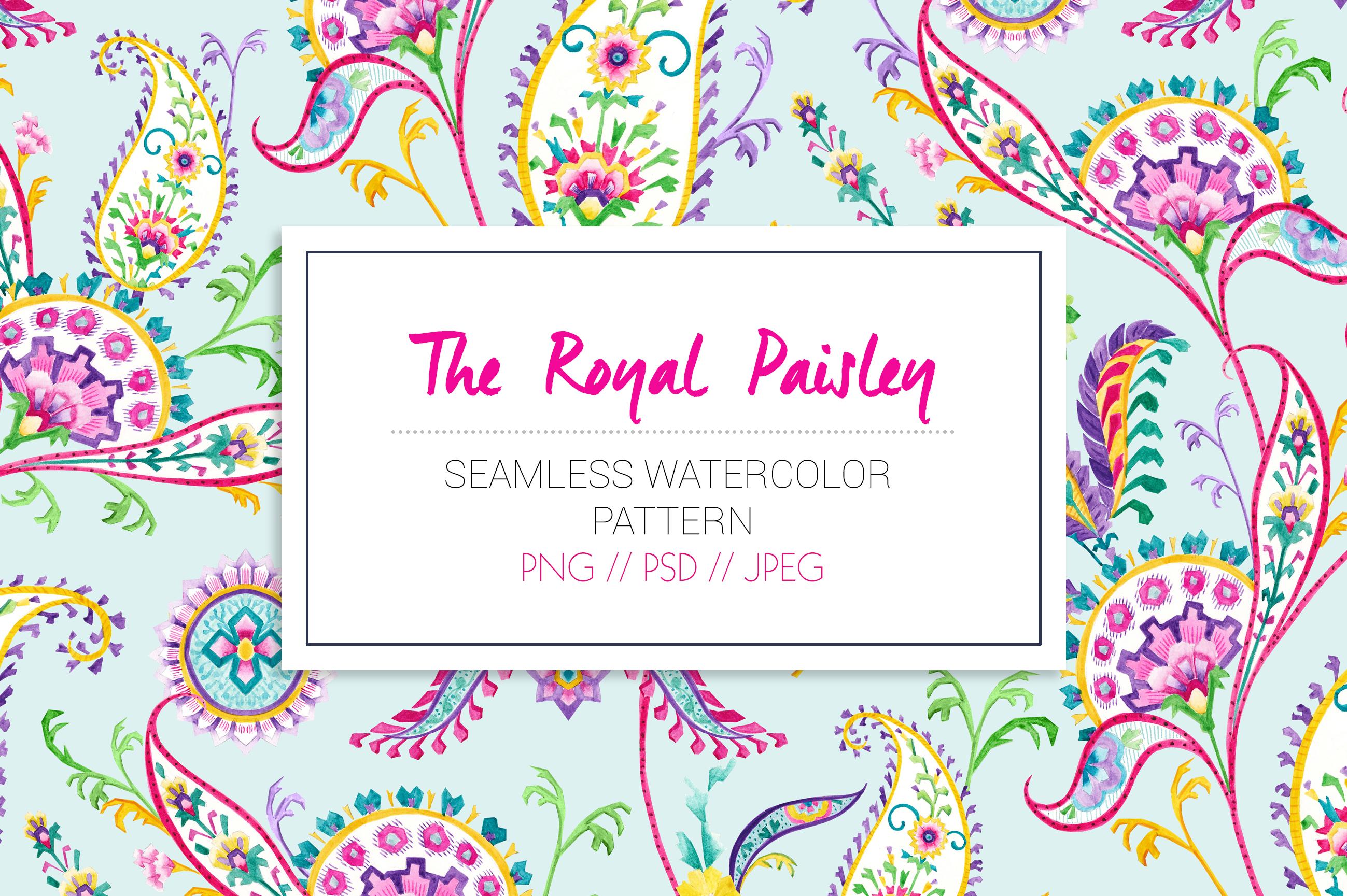 Royal Paisley example image 2