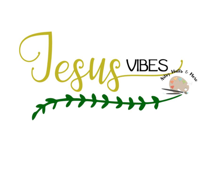 Jesus vibes svg, Jesus quote svg CUT file, trendy cute svg for Silhouette  or Cricut Christian t-shirt svg DIY Jesus in me svg Jesus loves me
