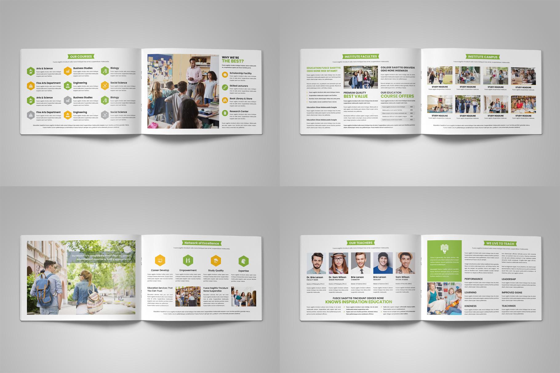 Education Prospectus Brochure v9 example image 11