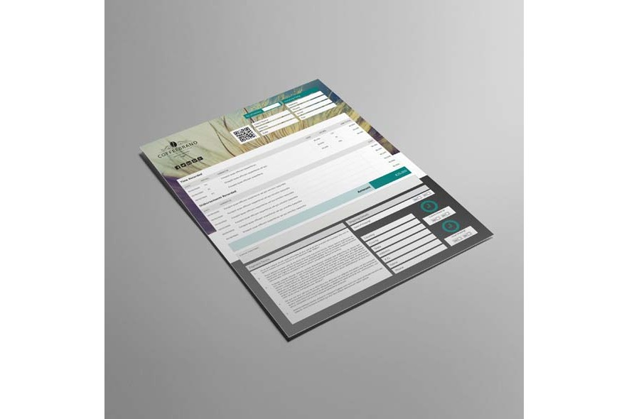 Invoice Template US Letter 4 Biz example image 3