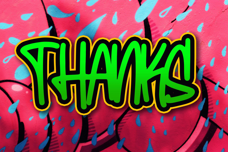 Bembies - Graffiti Font example image 4