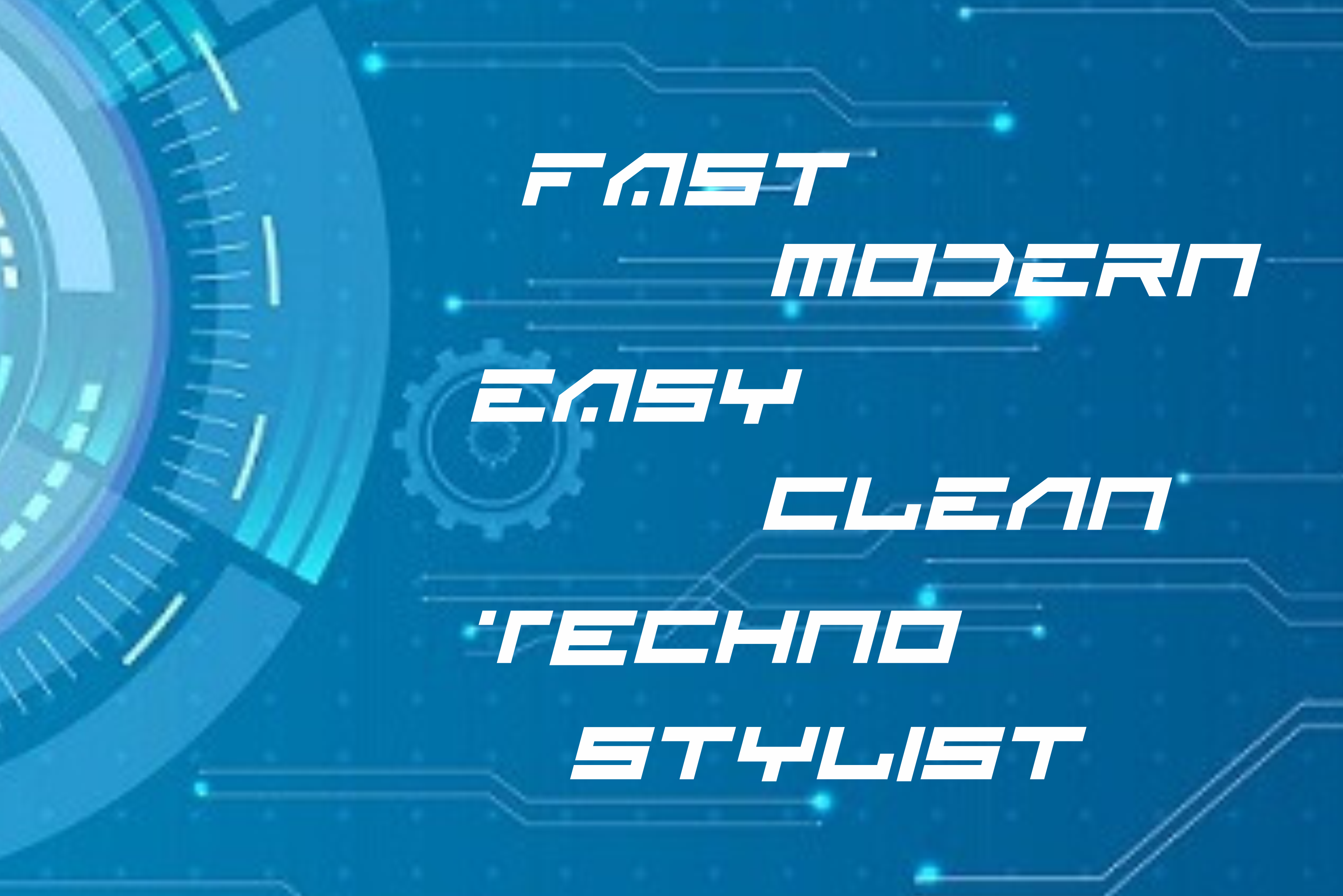 BLANK - Sci Fi Font ( 2 Font) example image 6