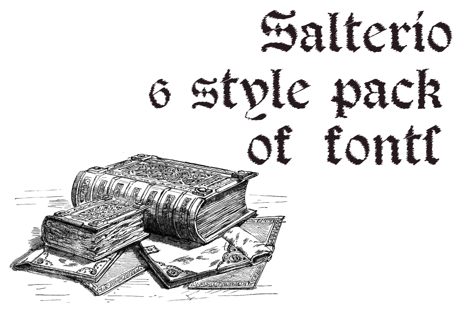 Salterio (six pack fonts) example image 7