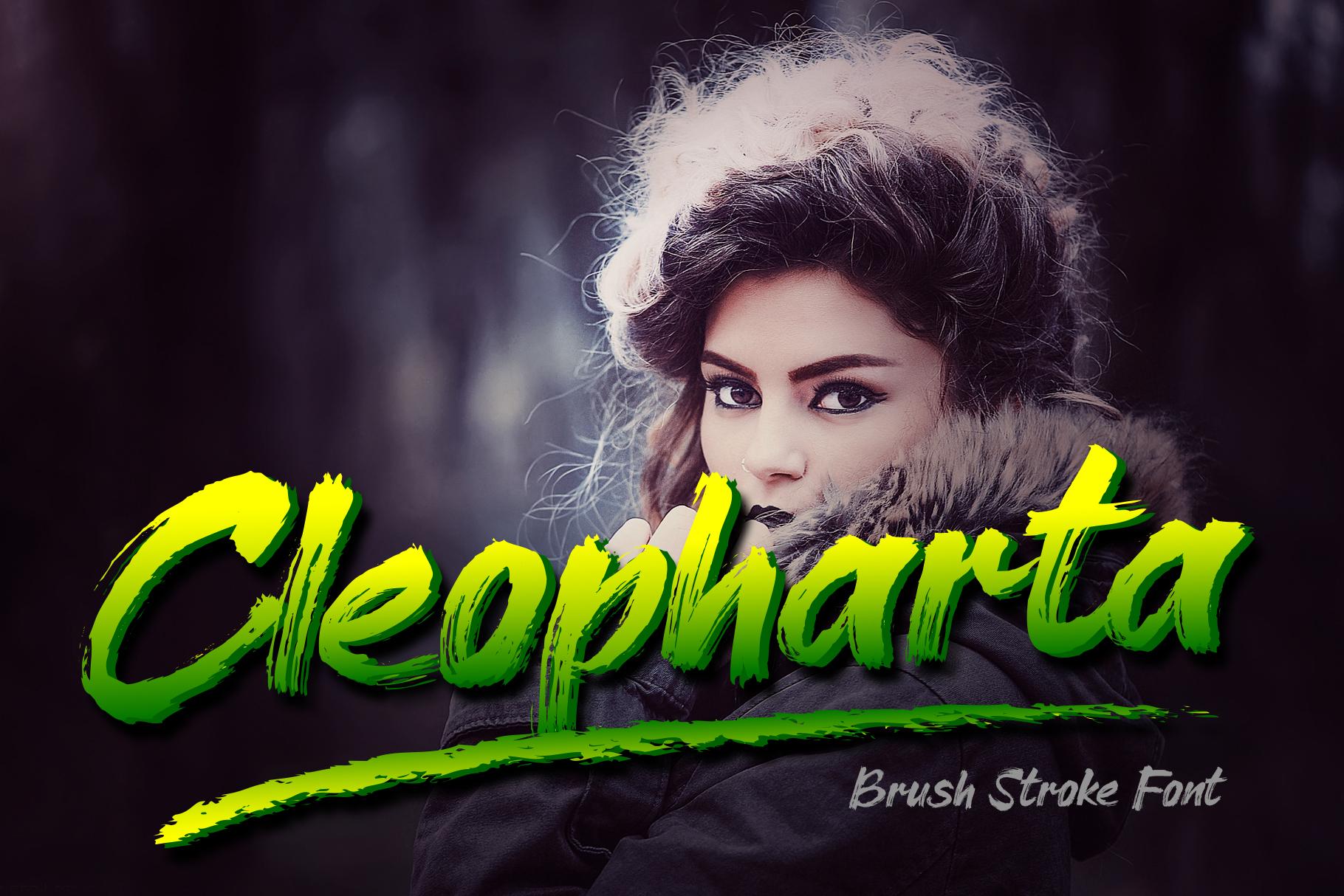 Cleopharta Font example image 1