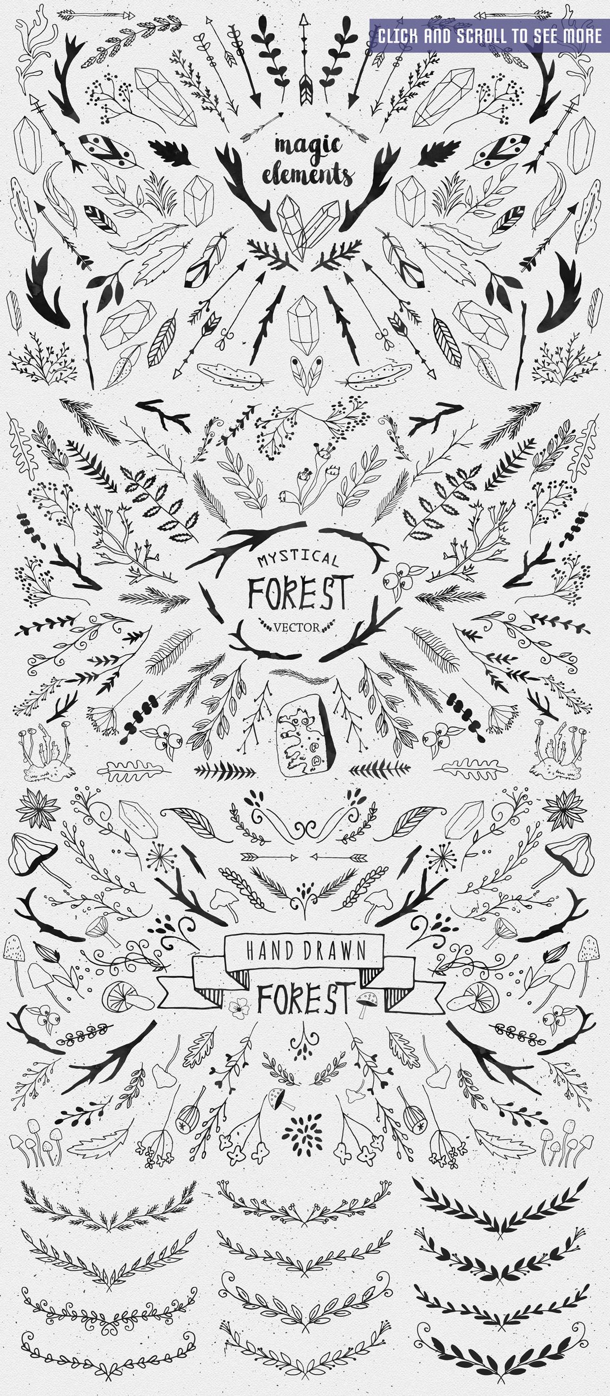 Mystical Forest DIY + Big Bonus example image 5