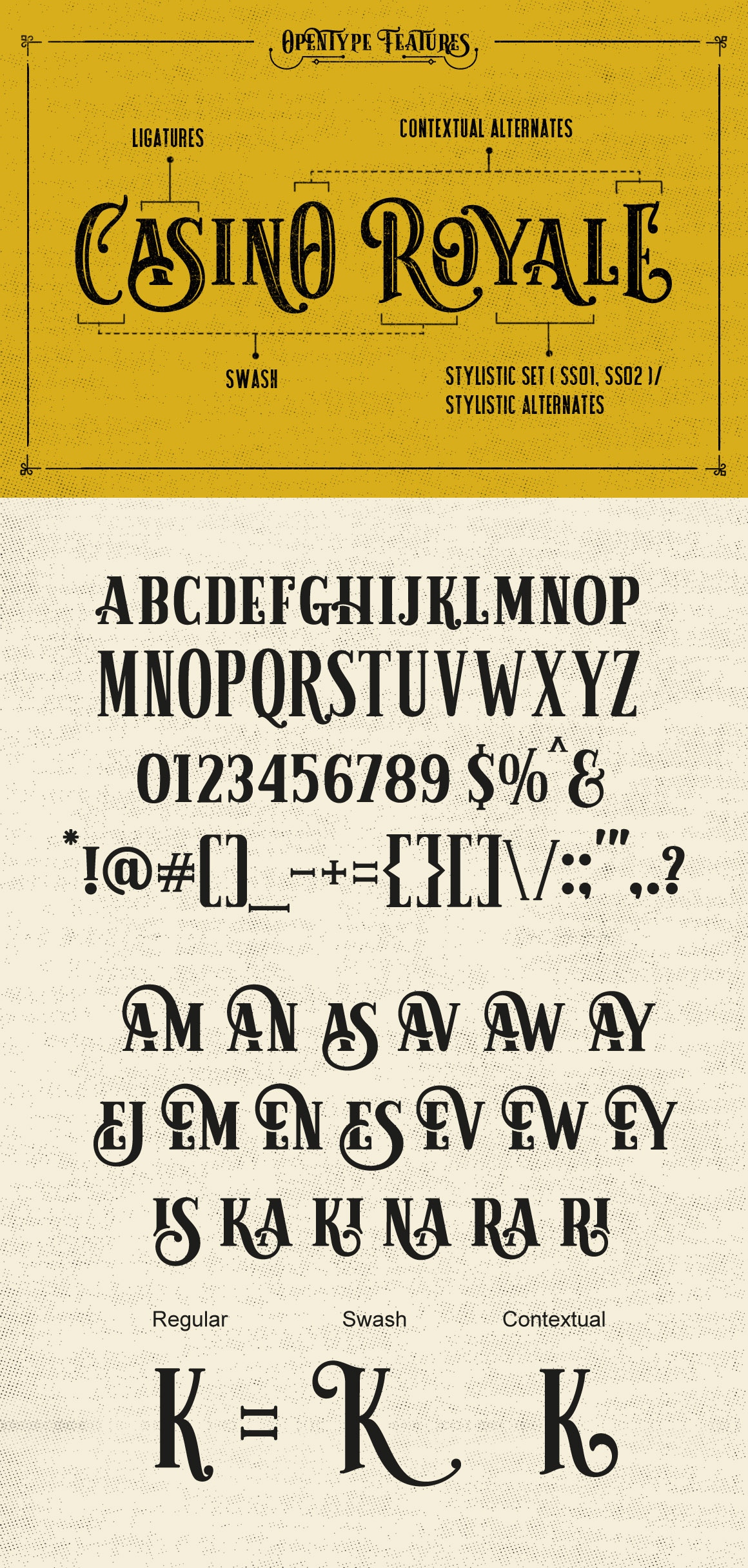 Sarcastic Typeface + Extras example image 2