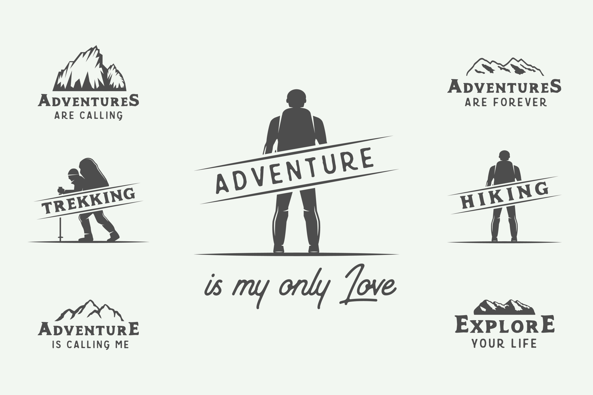 Camping and Adventure Emblems example image 9