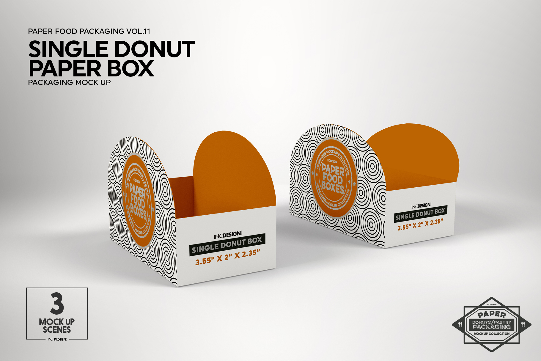VOL.11 Food Box Packaging MockUps example image 5