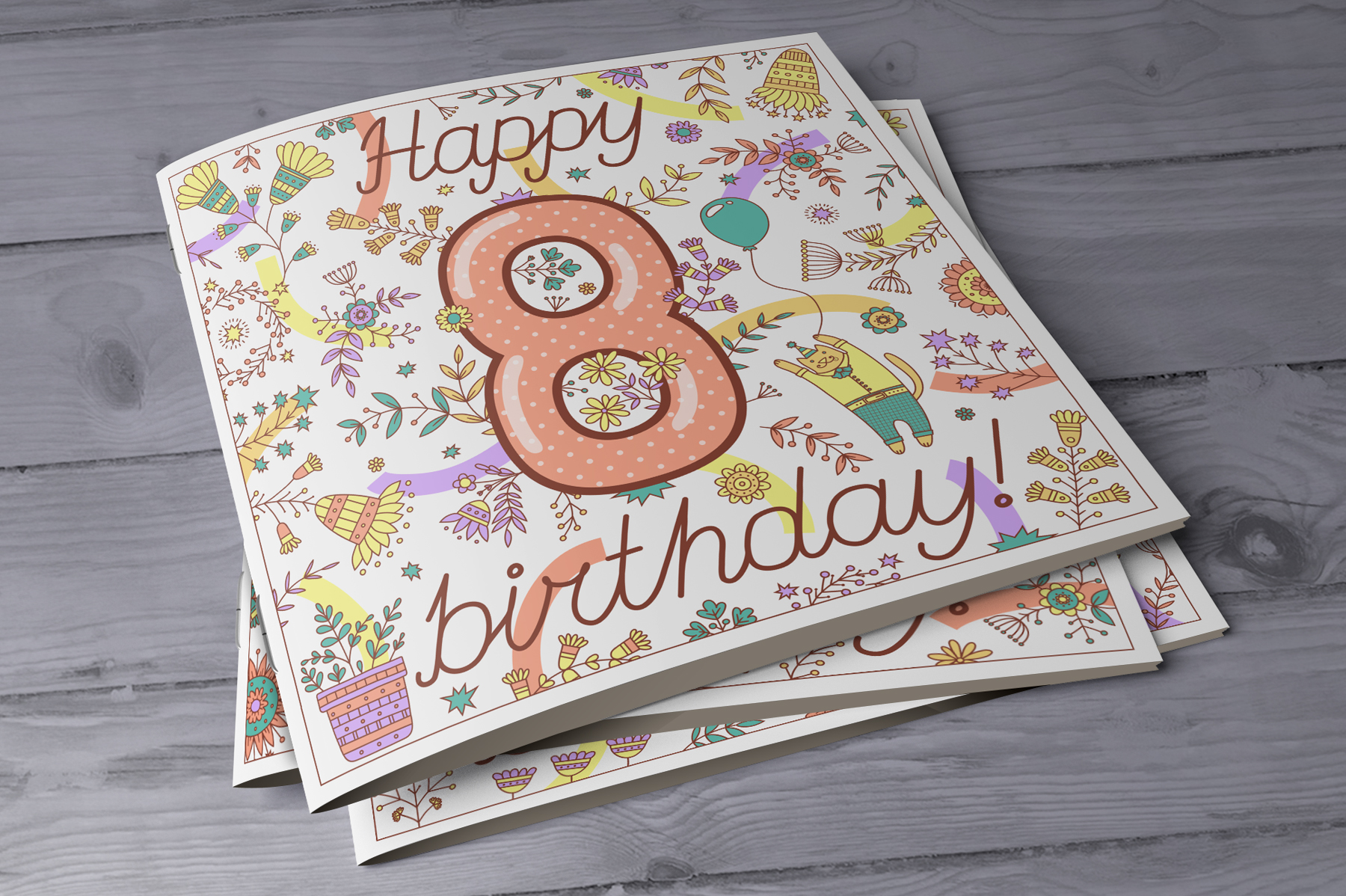 Birthday greeting cards collection example image 7