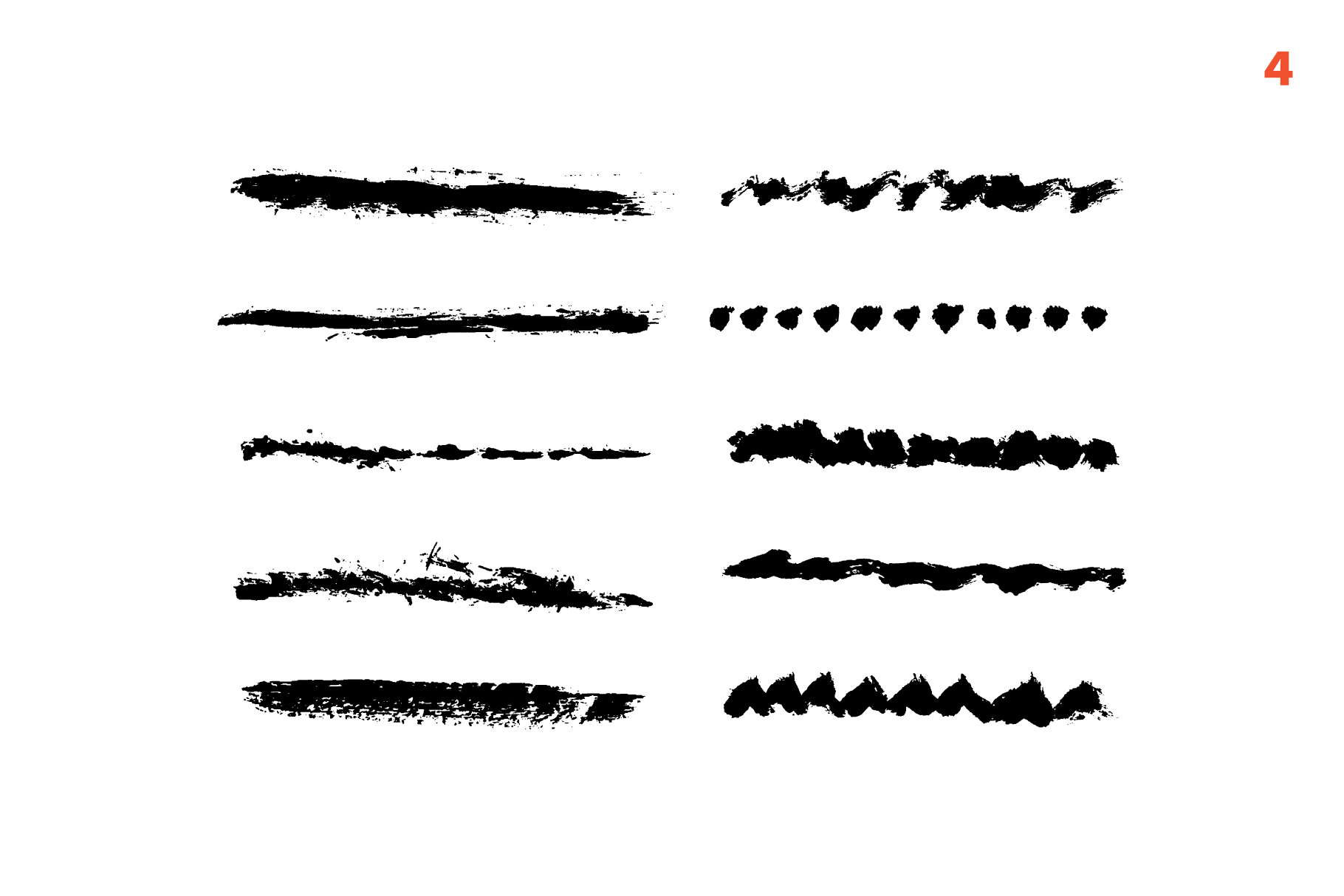 65 template for brushes + 6 seamless patterns example image 5