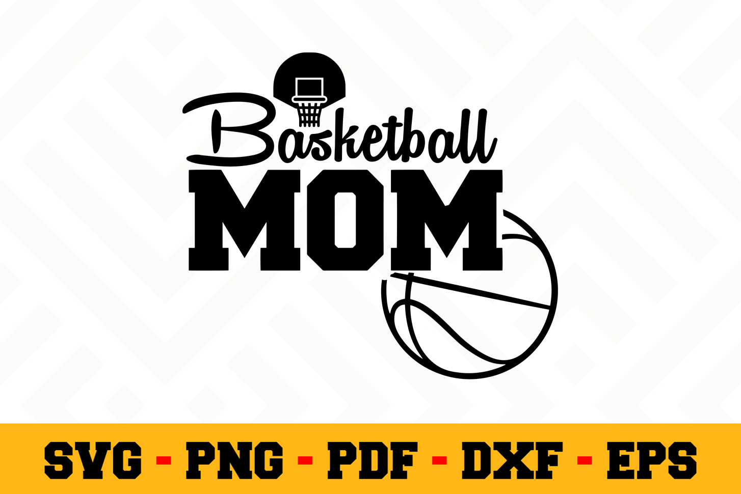 Basketball SVG Design n566   Basketball SVG Cut File example image 1