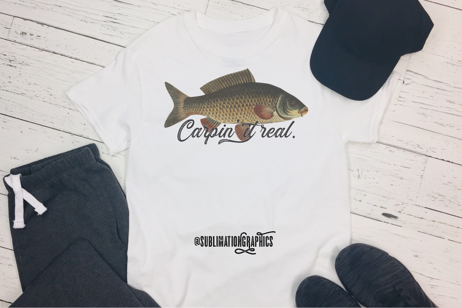 Carpin It Real Sublimation PNG example image 1
