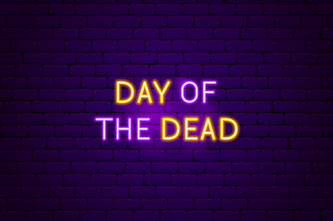 Day of the Dead Neon example image 8