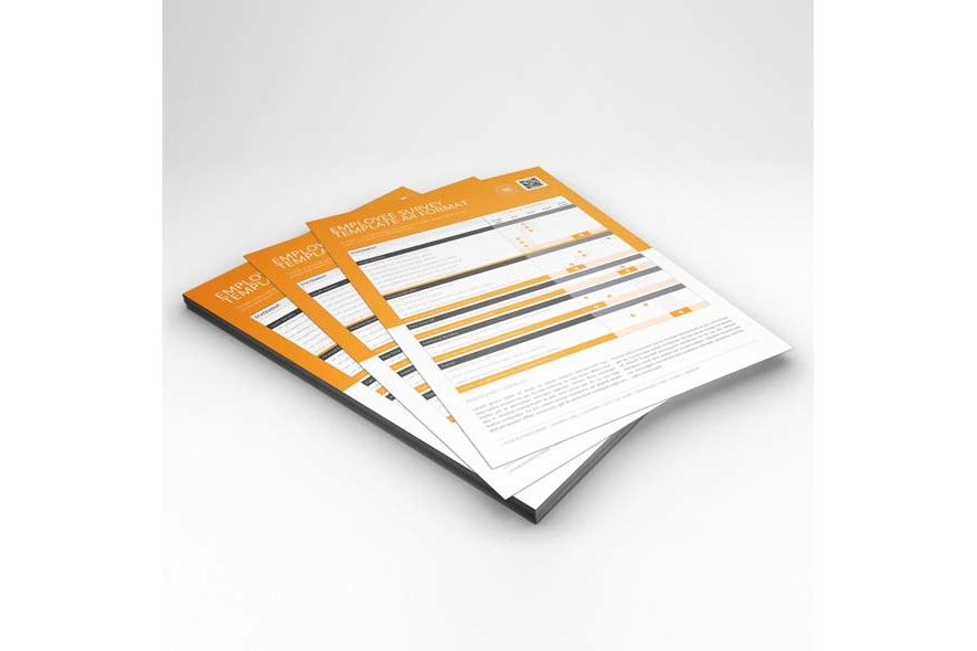 Employee Survey Template A4 Format example image 6
