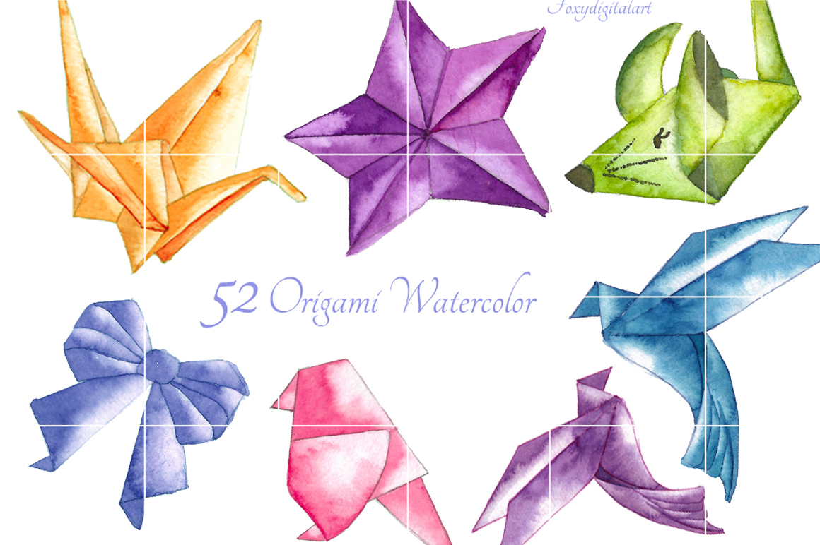 origami clipart example image 2