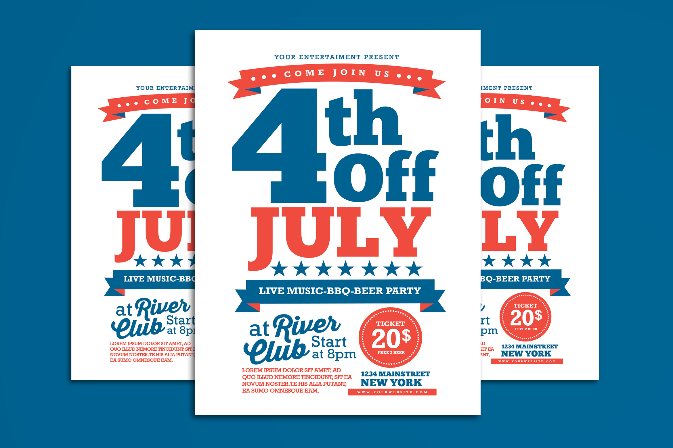 4th Of July Flyer example image 1