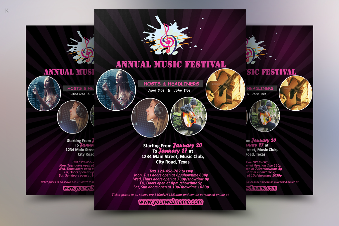 Music Flyer example image 1