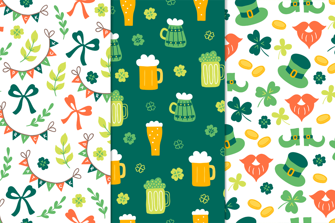 12 St. Patrick's Day Patterns example image 5