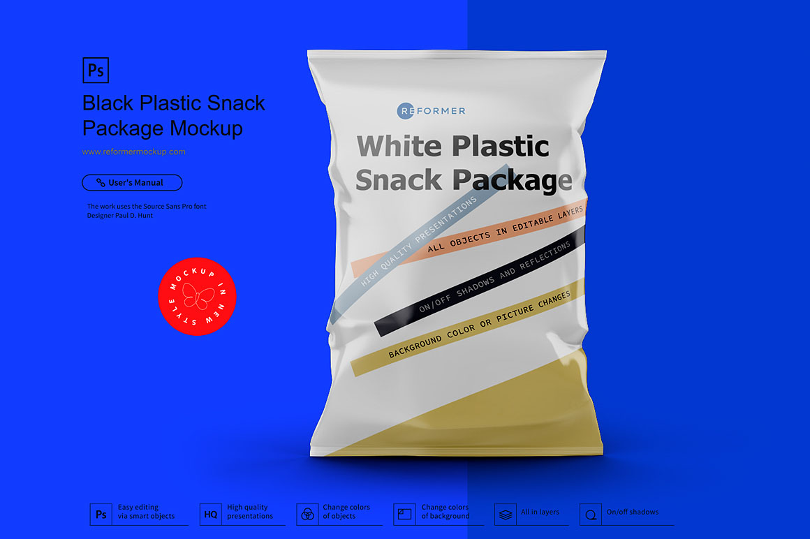 Six Snack Bags Mockup Bundle example image 12