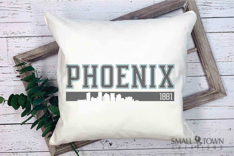 Phoenix, God Enriches - slogan, Arizona, PRINT, CUT & DESIGN example image 9