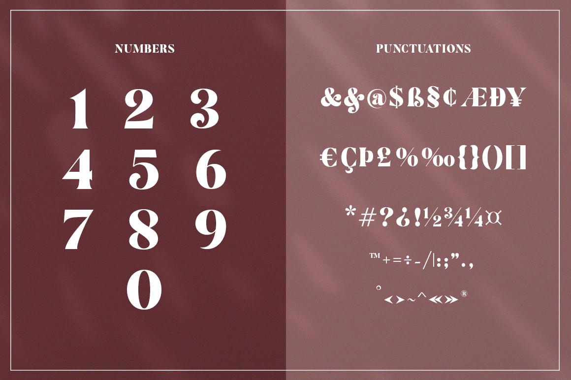 Restgold Serif Font example image 12