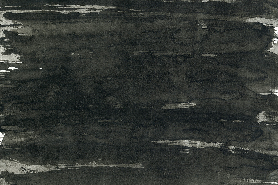 Black Ink Backgrounds Vol.2 example image 2