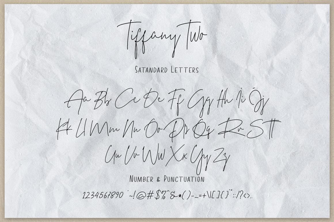 Tiffany Script example image 11