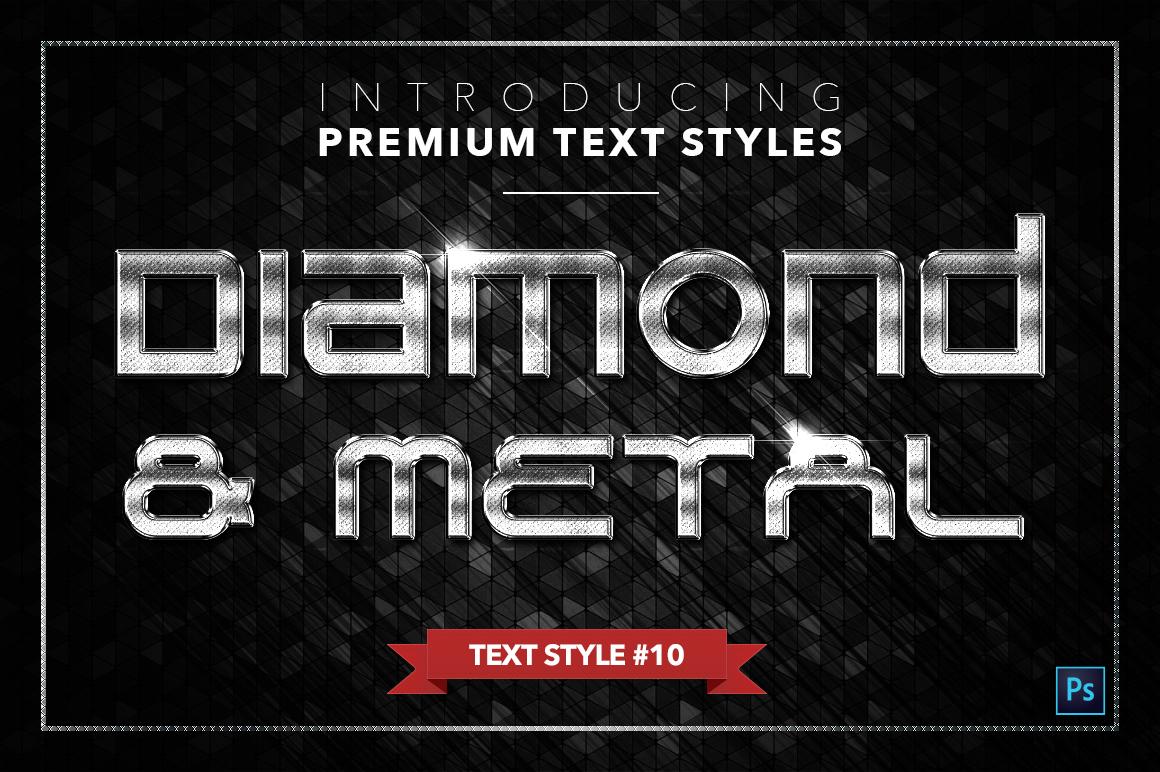 Diamond & Metal #3 - 18 Text Styles example image 11