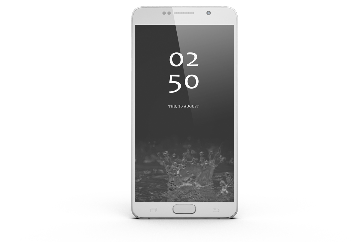 Samsung Galaxy Note 5 Mock-up example image 3