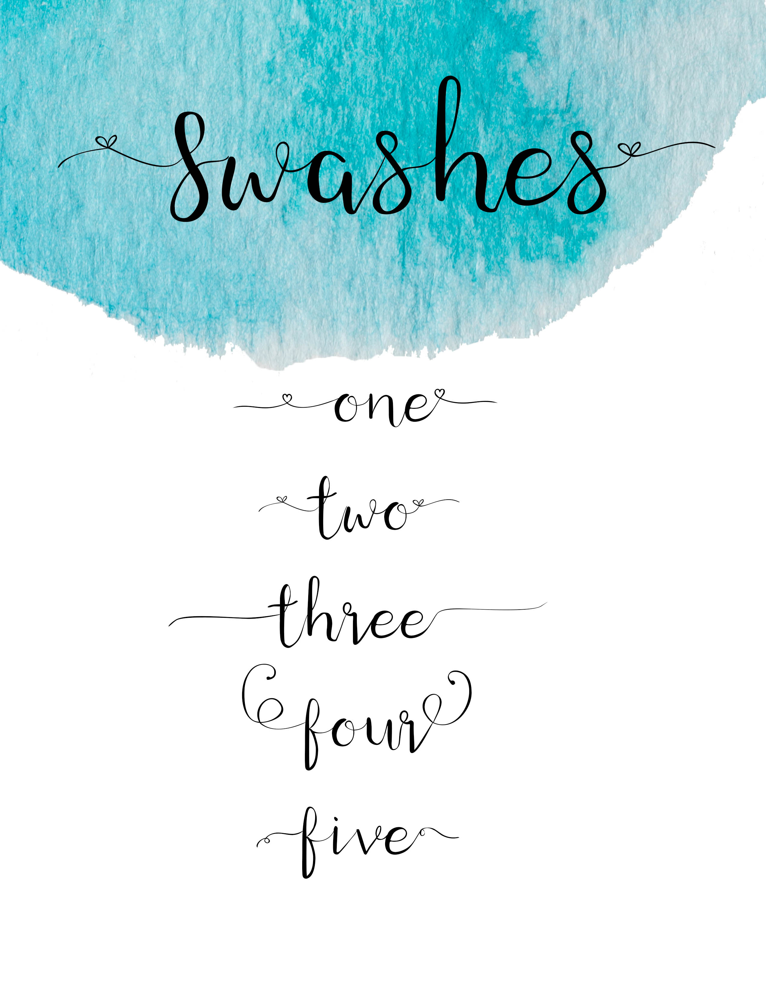 Windswept, a Brush script font example image 4