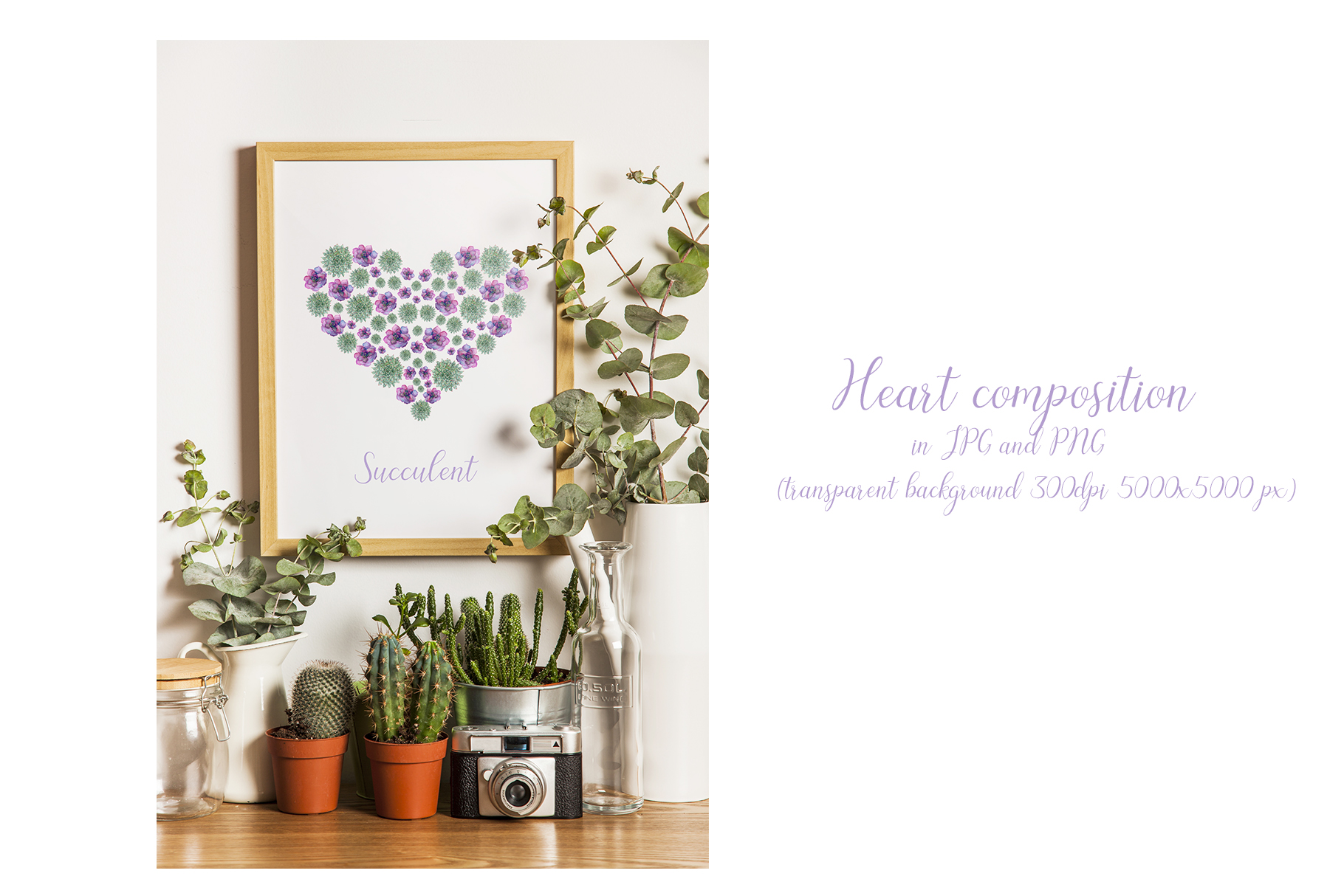 Watercolor floral illustrations example image 3
