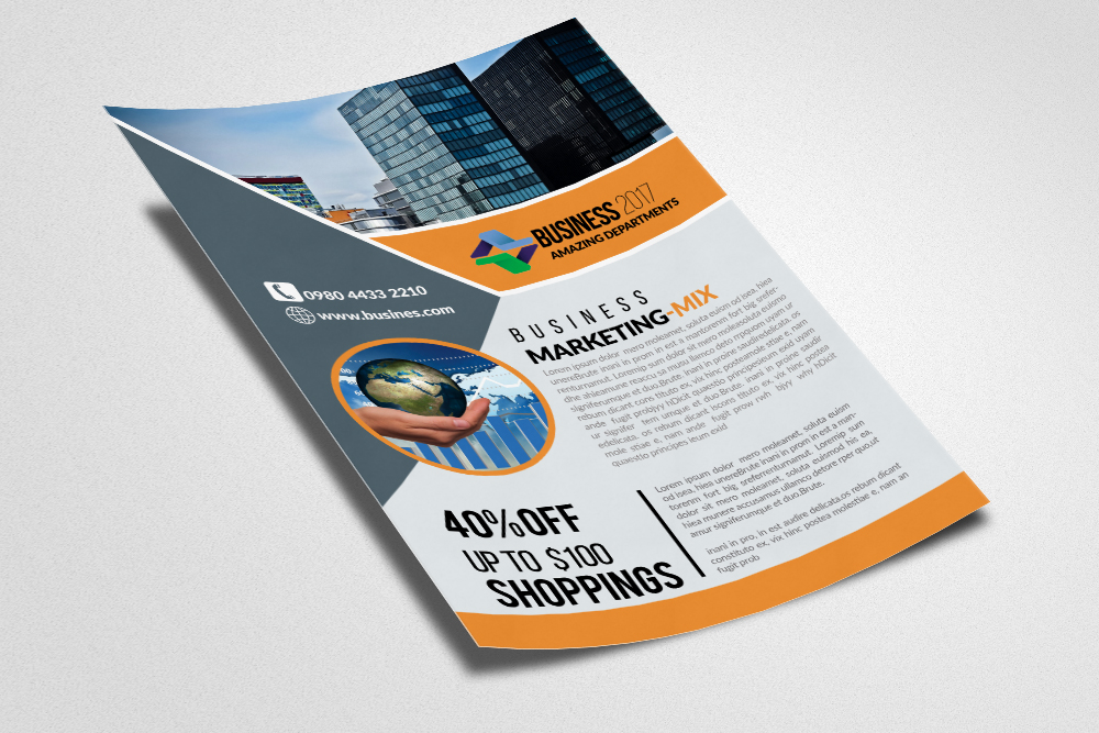 Business Consultants Flyer example image 2