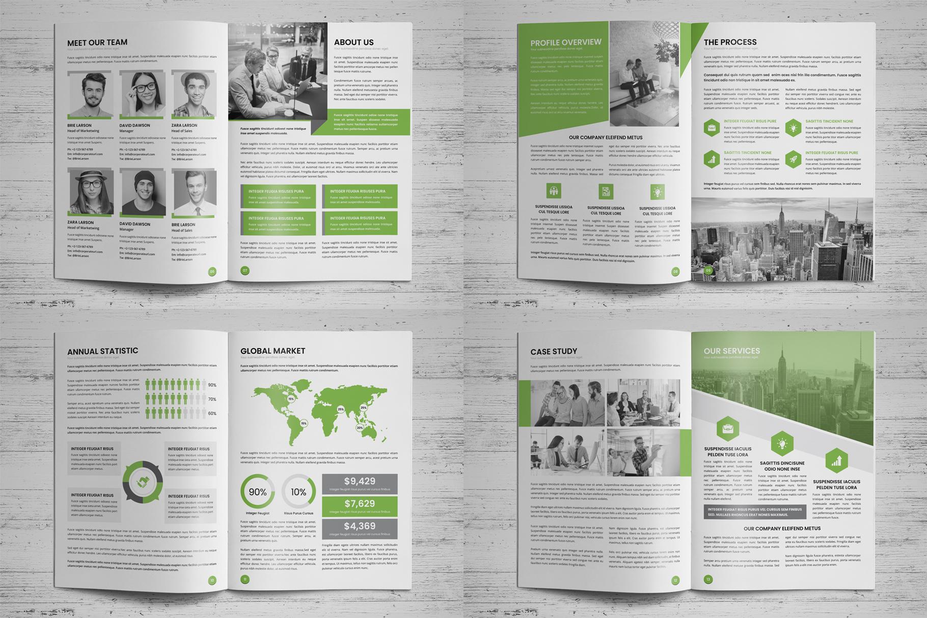 Annual Report Design v6 example image 19