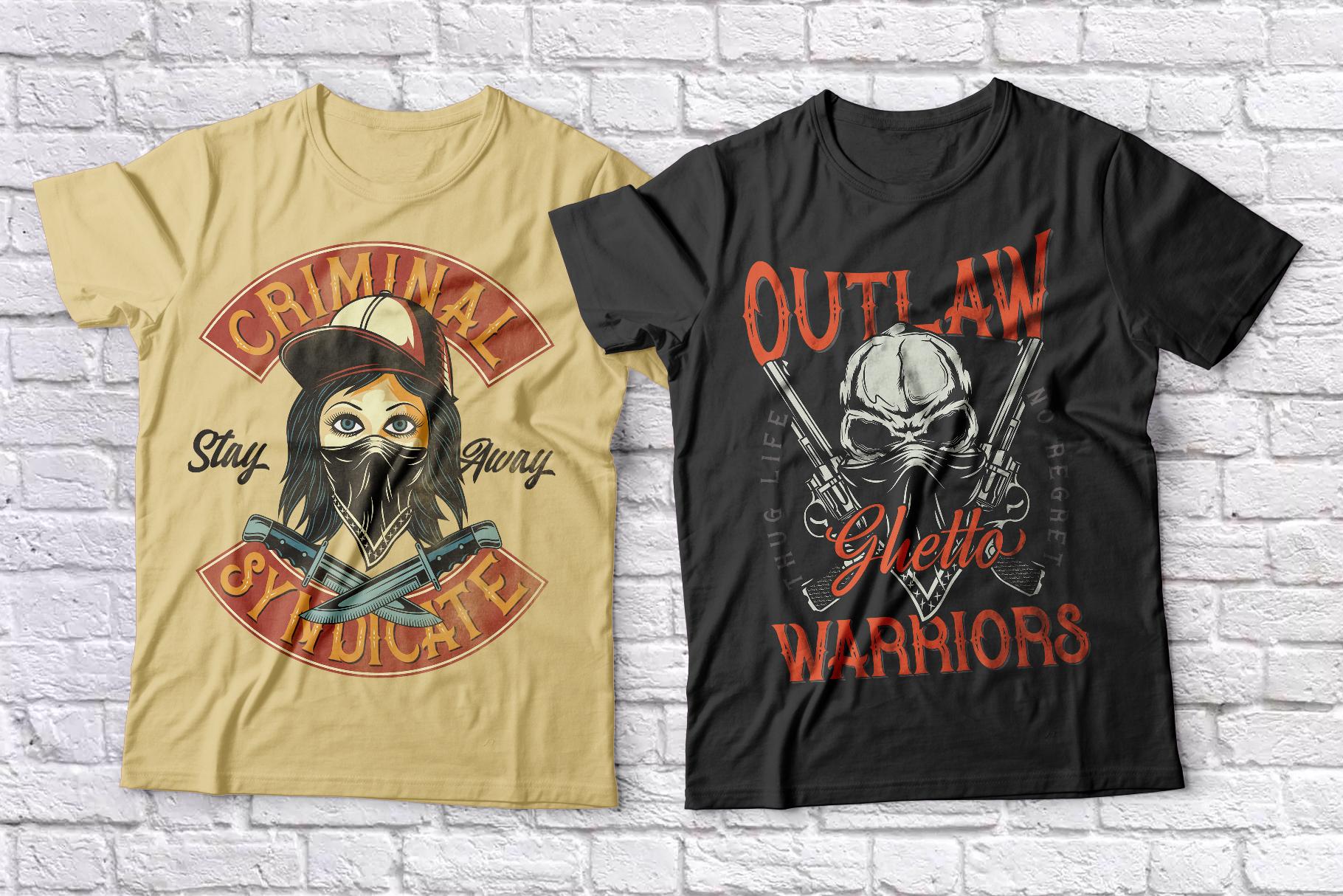 Bandidas - font and t-shirt designs example image 8