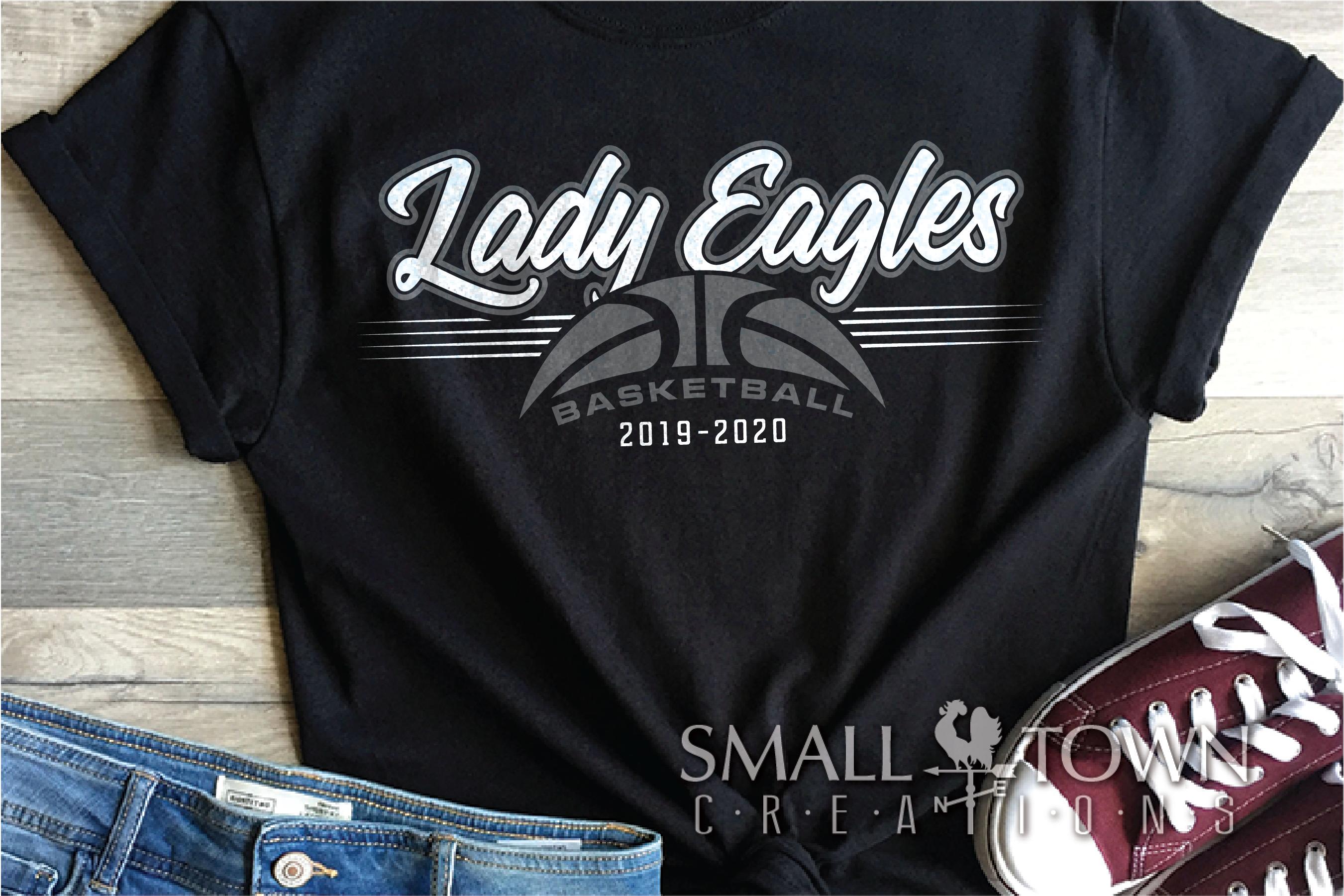 Lady Eagle, Basketball, Sport, Design, PRINT, CUT, DESIGN example image 1