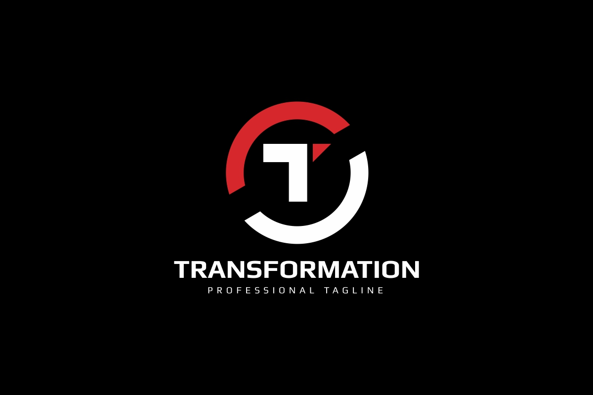 Letter T - Transform Logo example image 2