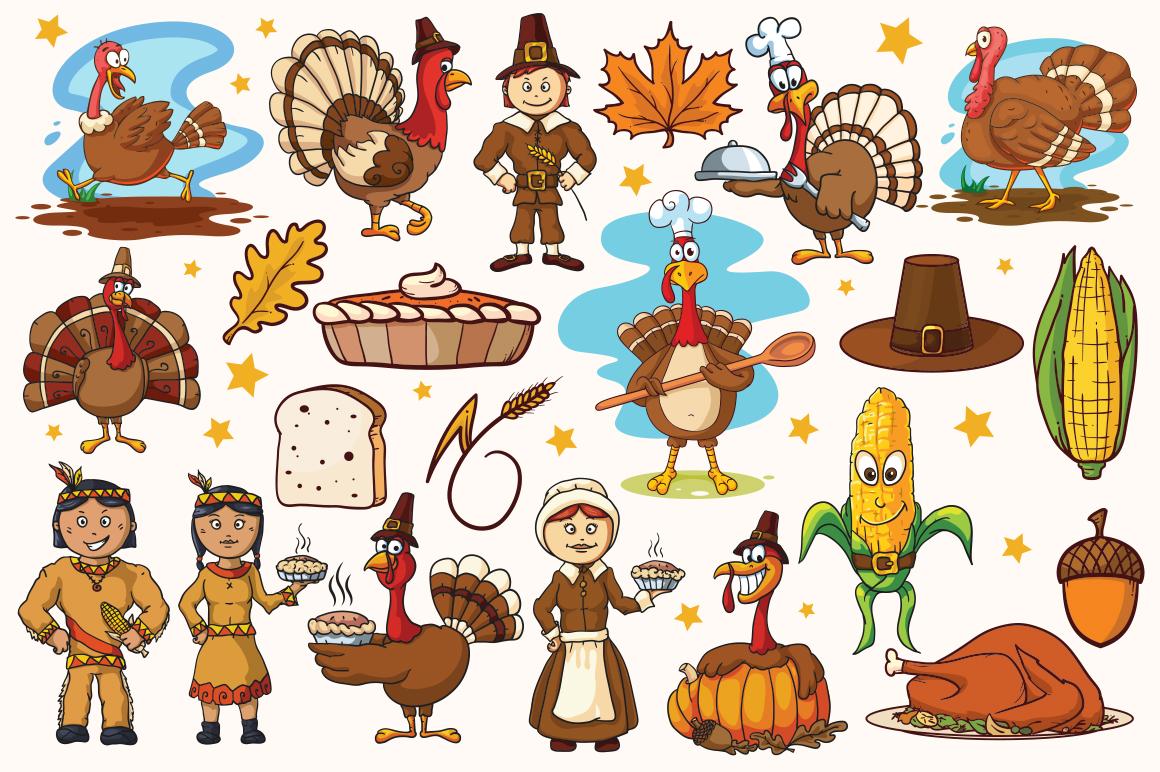 Cartoon Characters & Items Bundle example image 8