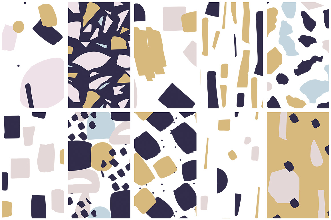 Collage Colorful Patterns example image 7