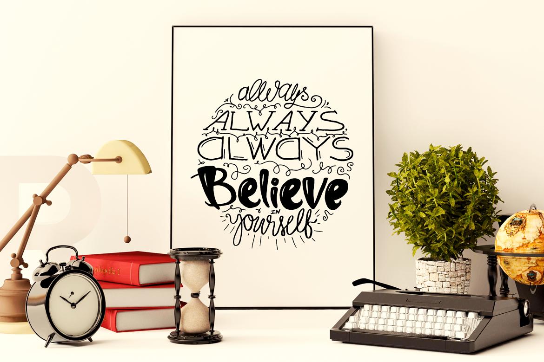 Believe In Yourself example image 3