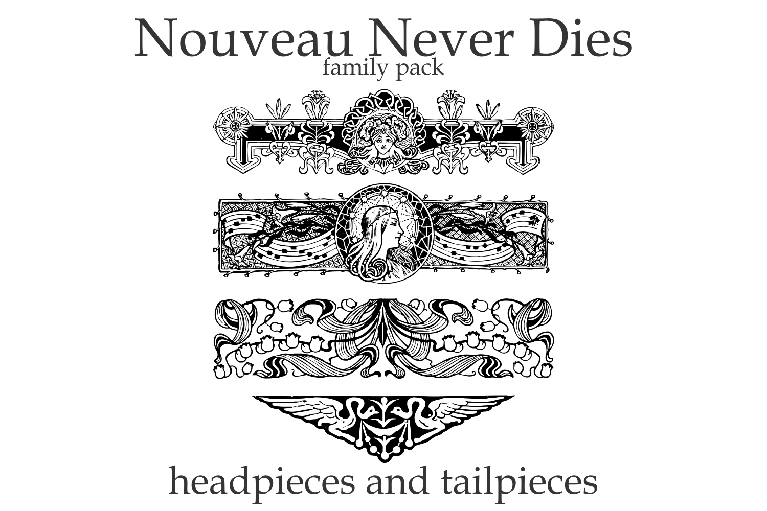 Nouveau Never Dies Family example image 3