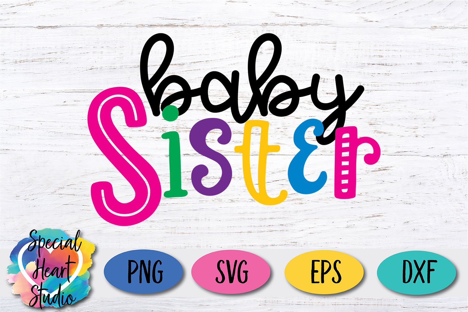 Baby Sister - A family and sibling SVG example image 2