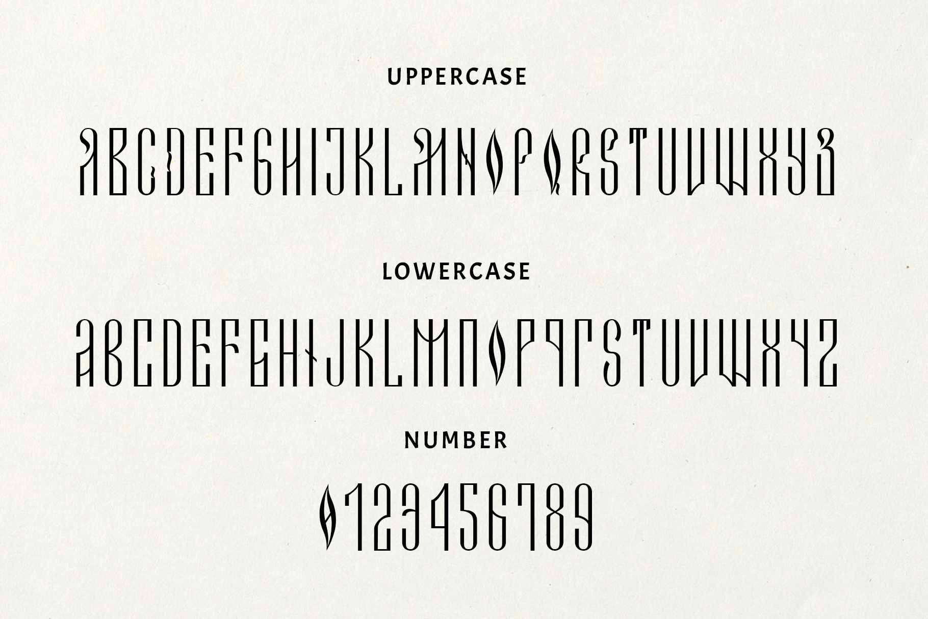 Novodevichi - russian letter font example image 4