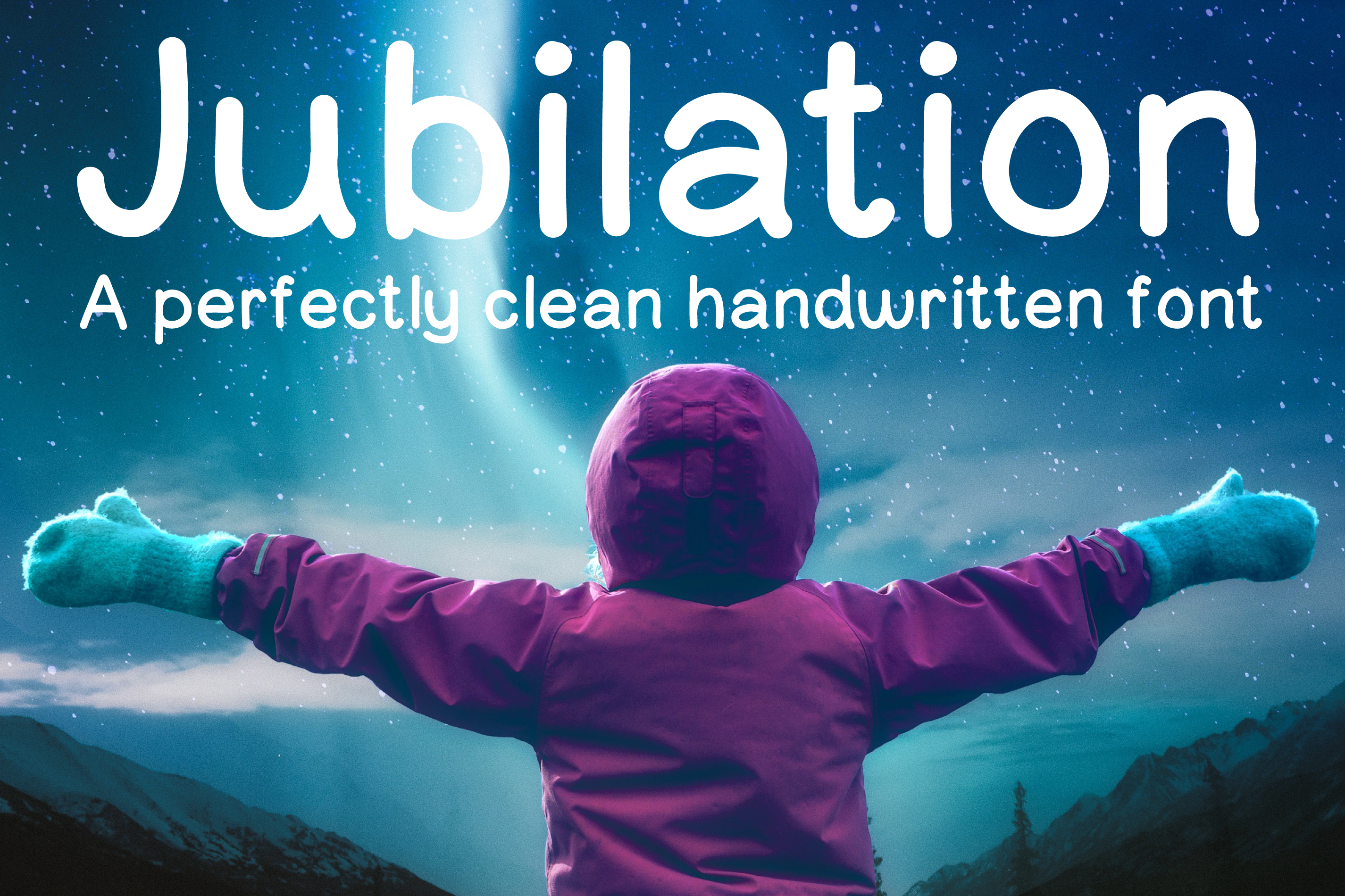 Jubilation Sans Serif Handwritten Font example image 1