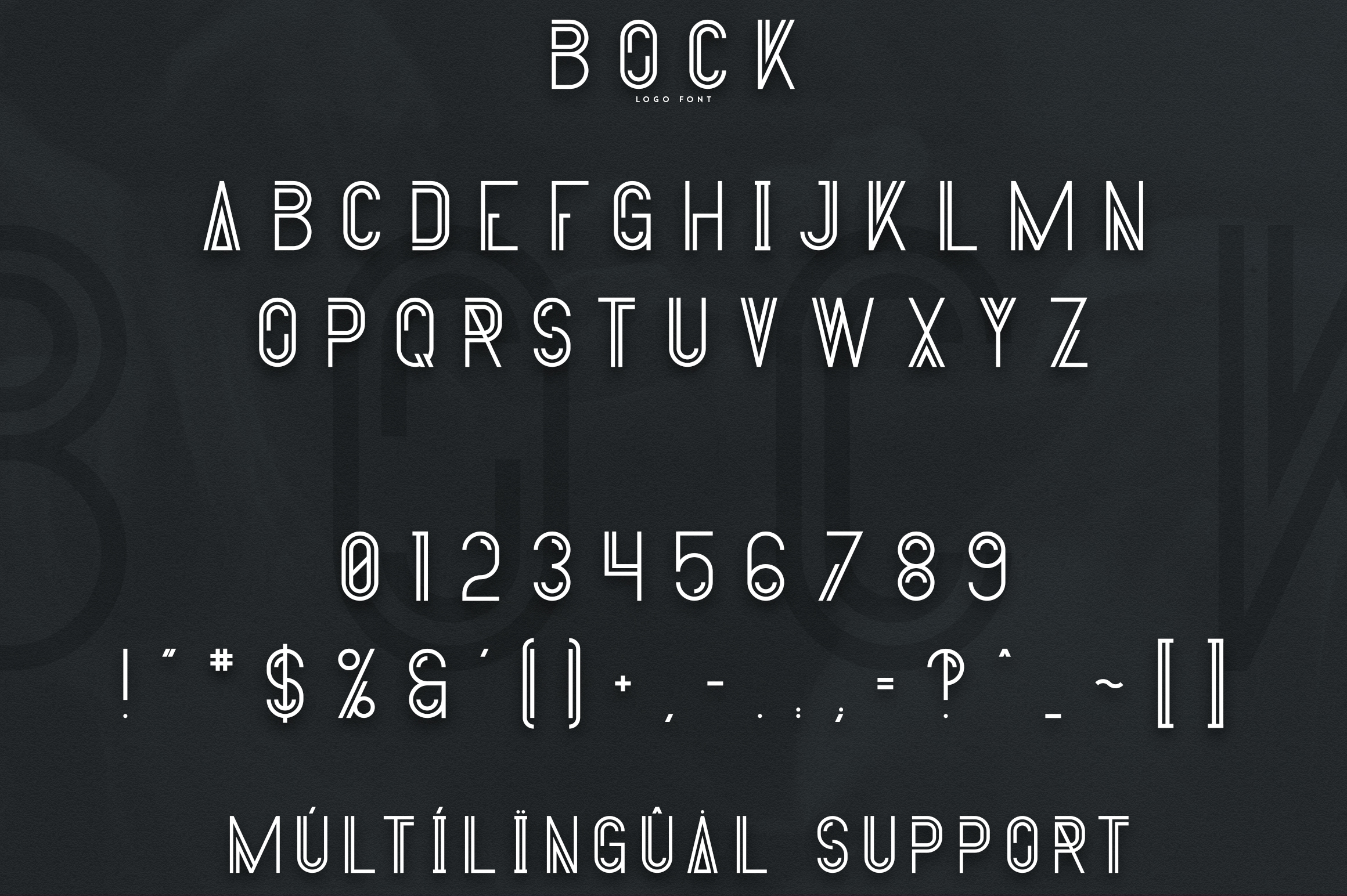 Bock - Logo Font example image 7