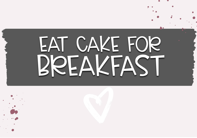 Cake Batter - A Handwritten Font example image 5