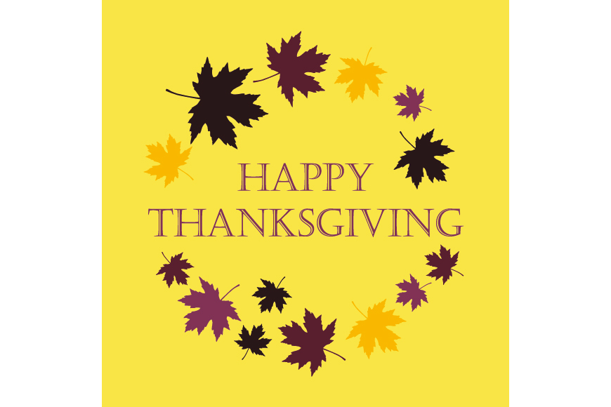 Set of 6 seamless vector backgrounds and 6 posters Thanksgiving Day. example image 6