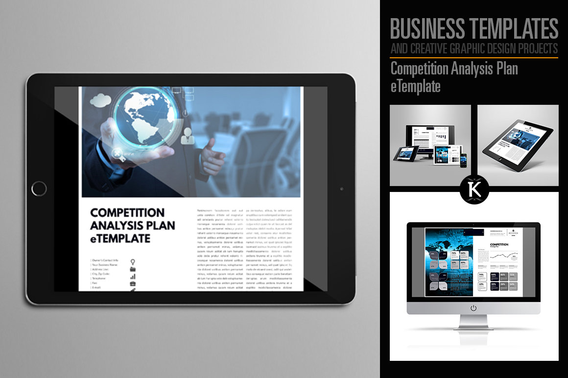 Competition Analysis Plan eTemplate example image 1