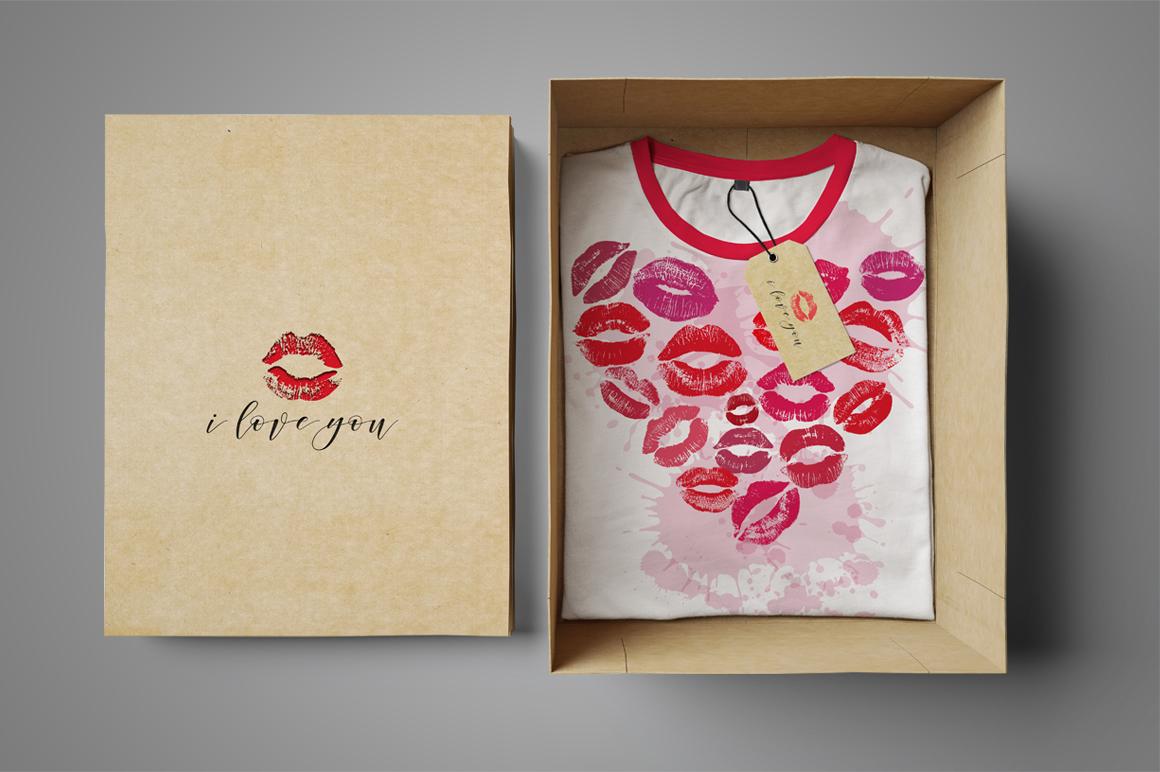 56 Lips big set. example image 6