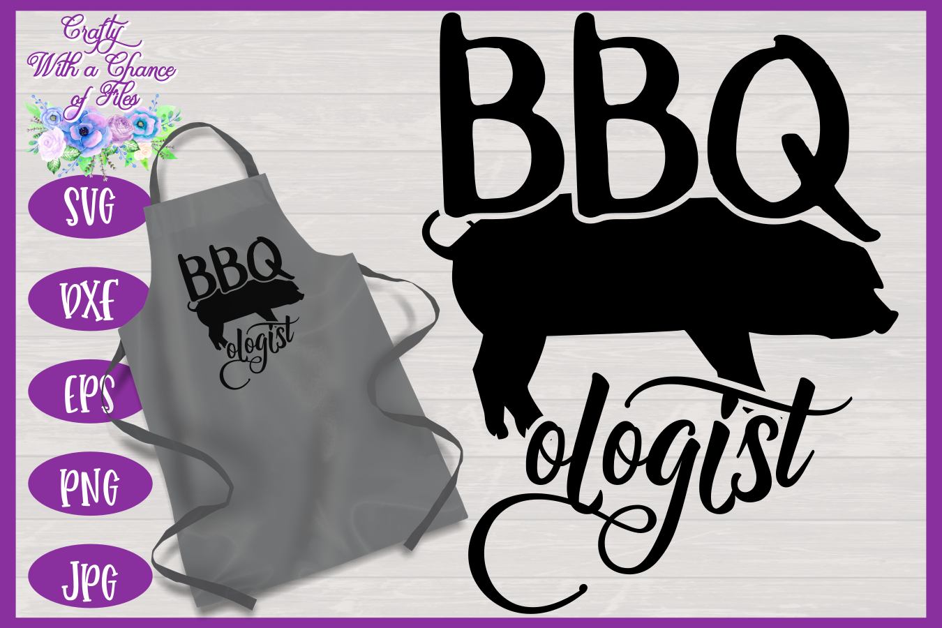 BBQ Grill Apron Bundle | Funny SVG Bundle example image 8